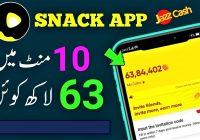 earn money from snack videos
